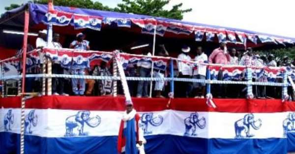 NPP Amenfi East Chairman Solicits Galamsey Funds For His Campaign?